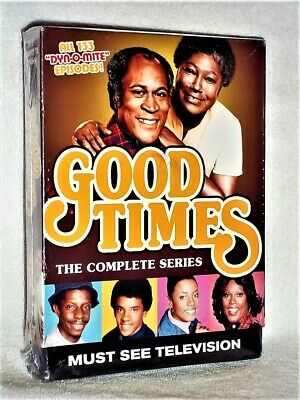 Good Times - The Complete Series (DVD, 2015, 17-Disc) Esther Rolle John Amos
