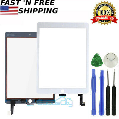 Touch Screen Digitizer Replacement +Tools For iPad Air 2 2nd Gen,A1566,A1567