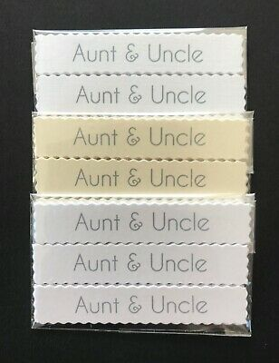 Uncle banners card toppers embellishments sentiments  pk10