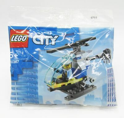 Lego City 30367 Police Helicopter Polybag 39 pieces new 6294082