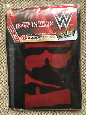 Wwe Wwf Raw Is War Retro Wrestling Set Ring Stone Cold Mankind Triple H Goldfish 16 00 Picclick Uk