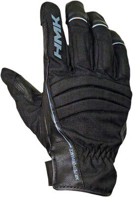 HMK 2016 Adult Snowmobile Team Black Gloves Size Extra Small