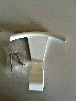 Coat Hanger X Wall IN Zama White Colour Length 100 MM With Screws