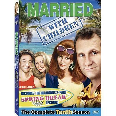 Married With Children - The Complete Tenth Season 10 Ten (3 DVD's Set NEW Sealed