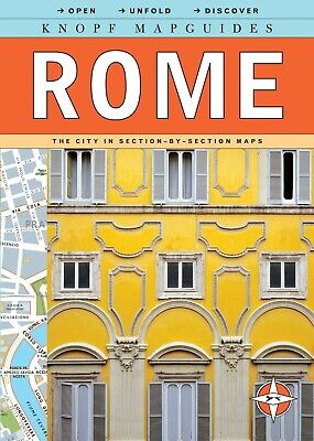 Guidebook and Map for Rome, Italy, by Knopf Mapguides