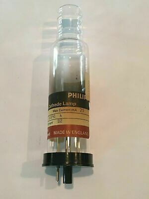 Philips Data Coded Hollow Cathode Lamp, D2 Part# 9423 361 10191