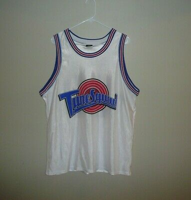 Tune Squad #23 Vintage Basketball Jersey MENS SZ LARGE Space Jam Jordan WarnerBr