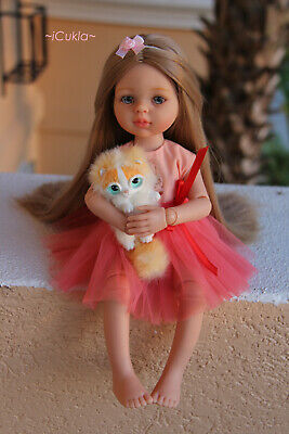 """Paola Reina doll ~OOAK doll~VASILISA~13.5""""~34cm~articulated body ~by iCukla"""