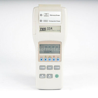 H● TES-32A Battery Capacity Tester (RS-232).