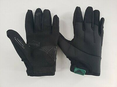 TurtleSkin TUS-012 Alpha Plus Gloves, LARGE - Black