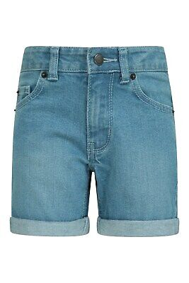 Mountain Warehouse Kid Denim Girls Kids Shorts Casual Shorts
