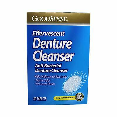 2 Pack of GoodSense Denture Tabs 90ct/each, Exp 4/21 *Free Shipping**