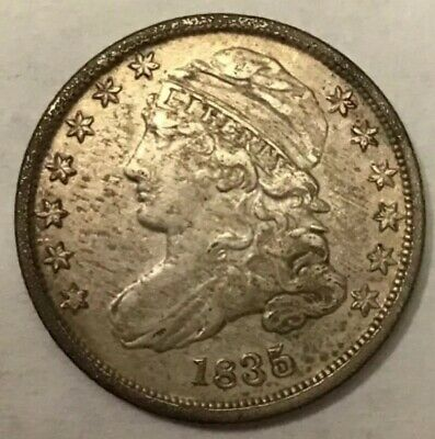 .1835 Capped Bust Dime **Free Shipping**