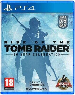 Rise of the Tomb Raider 20 Year Celebration PS4 - New and Sealed