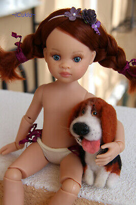 """Paola Reina Articulated Doll~GINGER~13.5""""~34cm~OOAK by iCukla~new body~4"""
