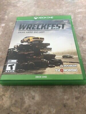 Wreckfest - Xbox One (2019) Fast Free Shipping
