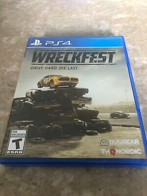 Wreckfest (PlayStation 4, PS4) Fast Free Shipping
