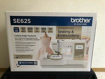 Brother SE625 Computerized Sewing and Embroidery Machine **READY TO SHIP**