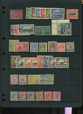 Commonwealth early to mid unchecked MH collection ~4