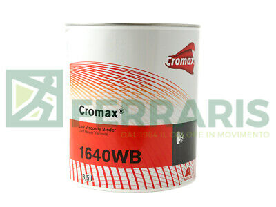 Resin Dupont Cromax W1640 Binder For Painting Waterbase Couche Body Car 3,5 Lt