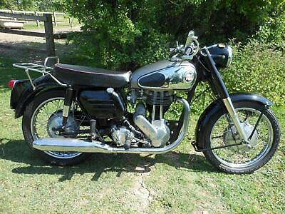 Norton Model 50, 1958, A Very Nice Clean 350 Single With Matching Numbers