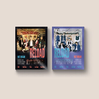 NCT DREAM - Reload [Ridin+Roll ver. SET] Album 2CD+2Posters+Tracking No.