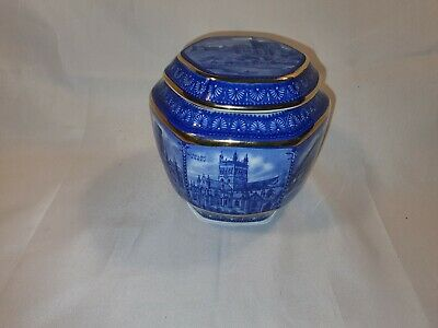 Vintage Wade Ringtons Small 80th Anniversary Tea Caddy Beautiful Condition (601)