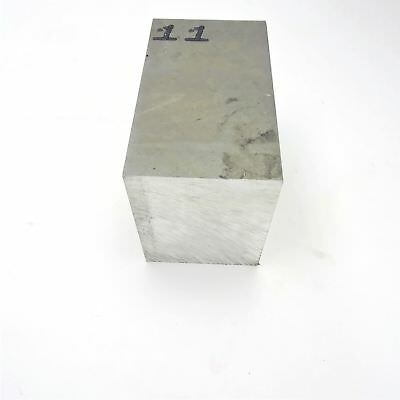 "3.75"" thick 6061 Aluminum PLATE  5"" x 10.75"" Long Solid Flat Stock sku 137509"