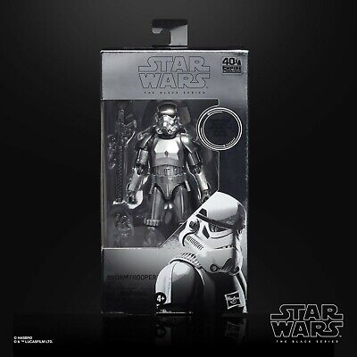 Star Wars Black Series CARBONIZED Stormtrooper 40th Anniversary PRE-ORDER