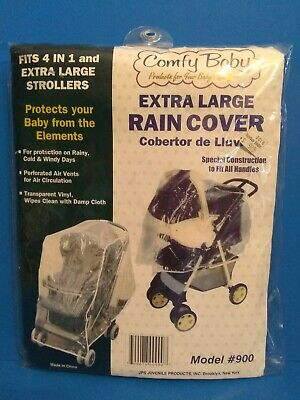 Comfy Baby extra large vinyl rain cover for stroller