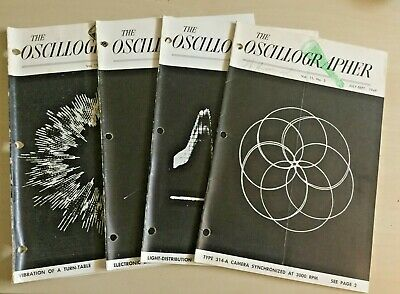 Vintage The Oscillographer 1940s Lot of 4 and Loose Pages