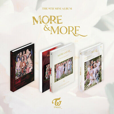 TWICE - More & More [A+B+C ver. SET] 3CD+3PO Benefit+3Poster+Free Gift+FREE SHIP