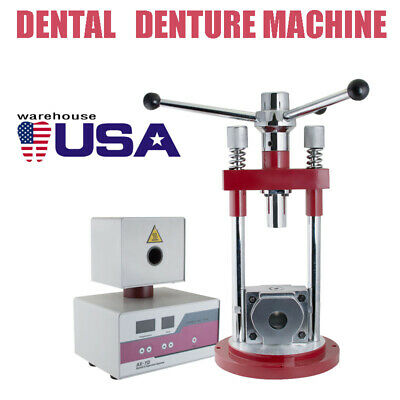 Dental Flexible Denture Machine Dentistry Injection System Manual Press Durable