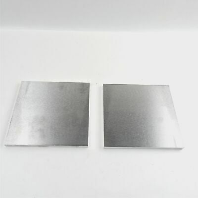 ".375"" thick  3/8  Aluminum 6061 PLATE  14.5"" x 14.875"" Long QTY 2  sku 180298"