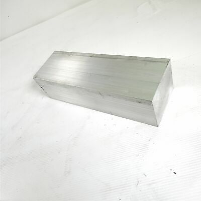 "3"" x 3.5"" Aluminum 6061 FLAT BAR 10.625"" Long new mill stock sku K236"