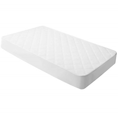 Crib Mattress Protector Toddler Quilted Waterproof Hypoallergenic Durable 28x52