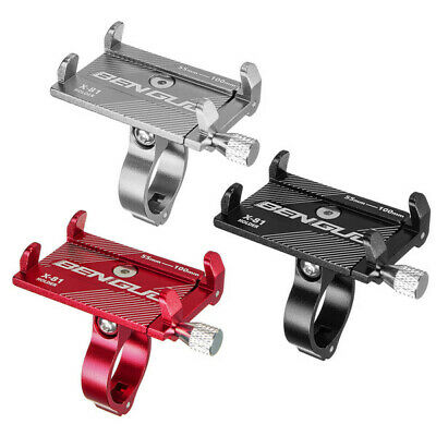 Bicycle Bike Aluminum Alloy Handlebar Mount Phone GPS Clip Holder Bracket UK