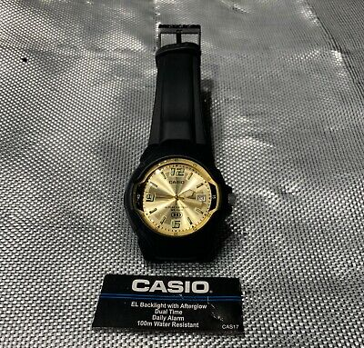 New Black and Gold Casio Watch