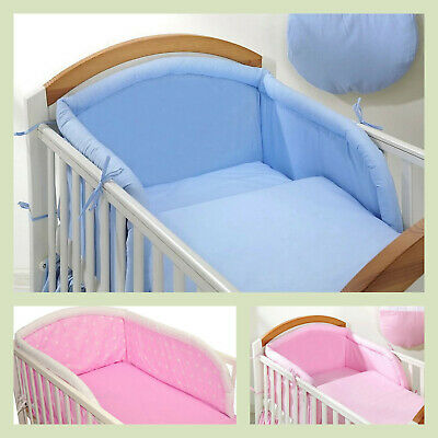 BABY Nursery Cot Bumper ONLY to fit Cot(120x60cm) or Cot Bed(140x70) S A L E!!!