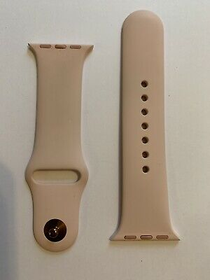 "Apple Watch Small ""Pink Sand"" Watch Band - Used Less Than 10 Times"
