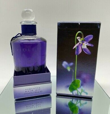Penhaligon's Violetta Bath Oil 200 ML / 6.7 OZ - RARE