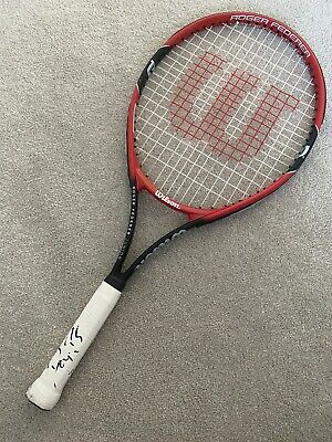 Roger Federer Hand Signed Official Tennis Racket - with COA