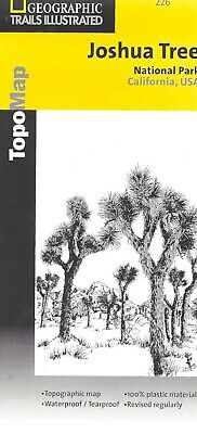 Joshua Tree National Park, by National Geographic Trails Illustrated Map #226