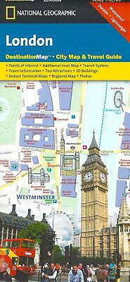 Street Map of London, England, by National Geographic Destination Maps