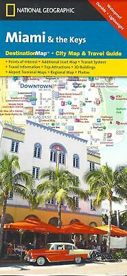 Street Map of Miami, Florida, by National Geographic Destination Maps