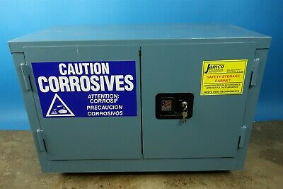 Jamco Corrosive Safety Cabinet with Keys / NEW