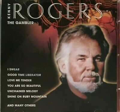 Kenny Rogers The Gambler 2-Disc Set CD Album VGC