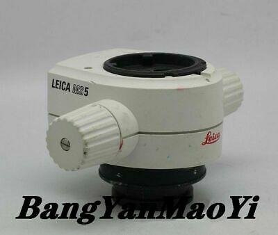 LEICA MS5 stereo microscope zoom body 0.63-4.0 zoom band 0.32X objective lens