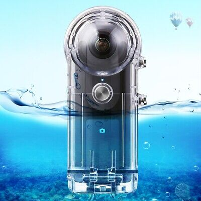 For RICOH Theta V S SC Camera Housing Case 360°Protective Shell 30m Waterproof