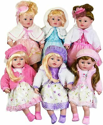 "24"" Lifelike Large Size Soft Bodied Baby Doll Girls Boys Toy  Festive Dress Outf"